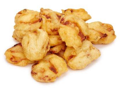 Картофель со свининой в кляре